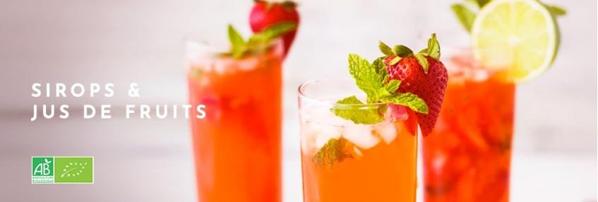 Sirops - Jus de fruits
