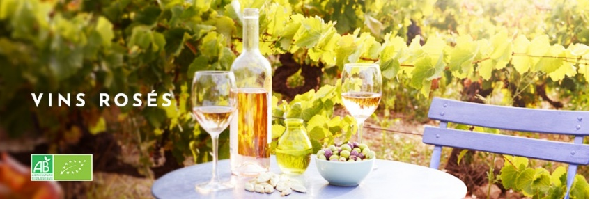 Vins Rosés Bio