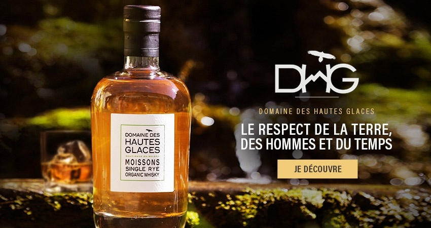 Whisky Bio Diomaine des Hautes Glaces