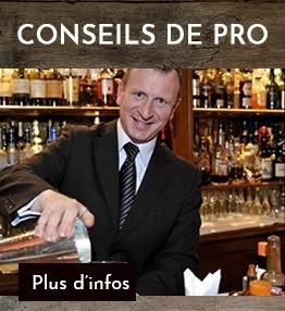 Recettes cocktails de professionnels